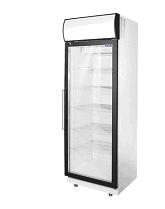 Холодильный шкаф со стеклянной дверцей