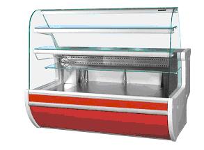 многоярусная холодильная витрина